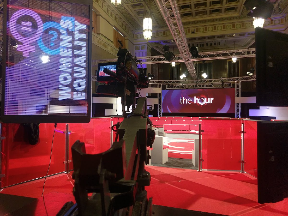 BBC The Hour TV Broadcast